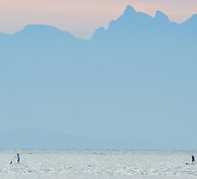 Paddle at Dawn by Shaynelee