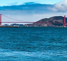 Golden Gate Panorama by pendleypictures