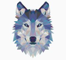 Geometric Wolf Kids Clothes