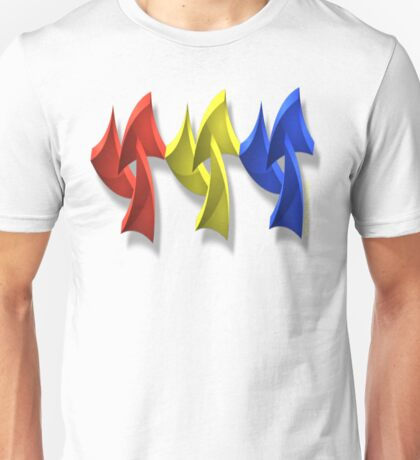 PRIMARY COLORED Unisex T-Shirt