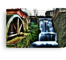 HDR water Mill Canvas Print