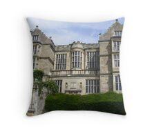 Fountain Abbey Manor House Throw Pillow