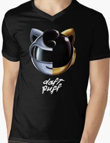 Daft Puff Mens V-Neck T-Shirt