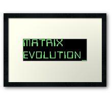 Digimon Tamers Matrix Evolution Framed Print