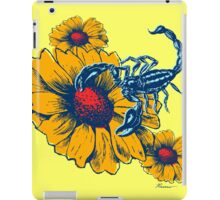 Scorpion Flowers iPad Case/Skin