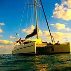 Bahaman Catamaran by Bobby Rognlien