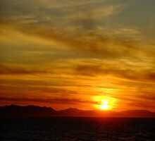 Just another sunset (2) by Themis