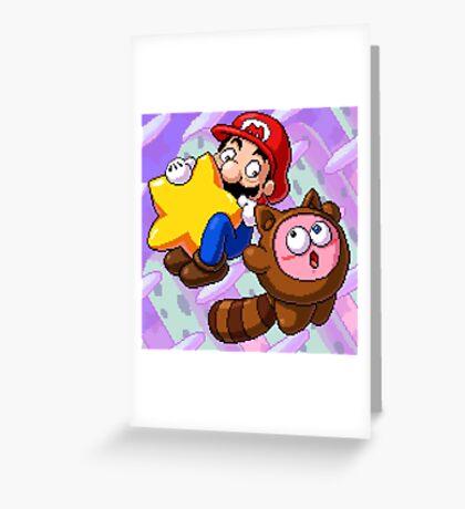 8-Bit Mixup Greeting Card