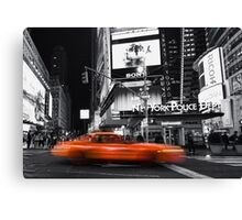 a new york minute Canvas Print