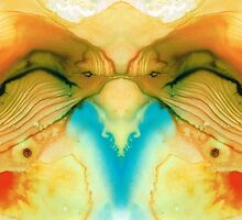 Namaste - Divine Art By Sharon Cummings by Sharon Cummings