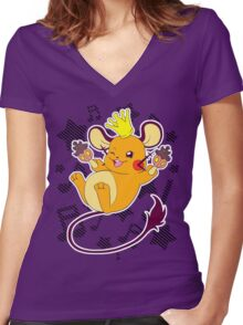 Party King Dedenne Women's Fitted V-Neck T-Shirt
