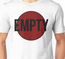 Empty (Red) Unisex T-Shirt
