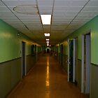 Hospital Hallway by Bobby Rognlien