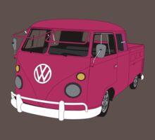 Pink Split Screen VW Kombi Pick up Kids Clothes