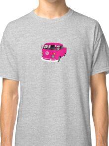 Pink Split Screen VW Kombi Pick up Classic T-Shirt