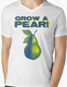 Grow A Pear Mens V-Neck T-Shirt