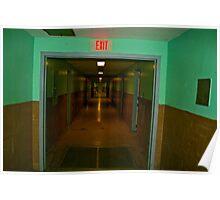 Hospital Hallway 2 Poster