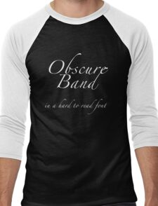 Obscure Band Men's Baseball ¾ T-Shirt