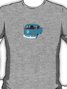 Blue Split Screen VW Kombi Pick up T-Shirt