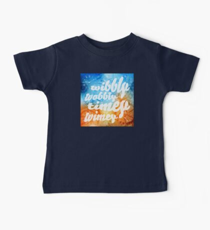 Time Wobbles Baby Tee