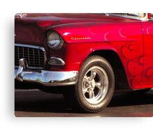 Wicked Red Canvas Print