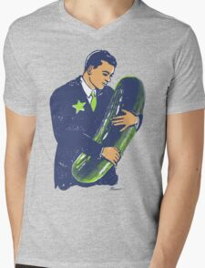 Hold The Pickle - American Oddities #3 Mens V-Neck T-Shirt