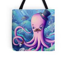 A Fancy Octopus Dilemma Tote Bag