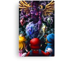 A Challenge from the Dark Knight of Vanda Canvas Print