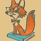 Fox Librarian by Will Ruocco