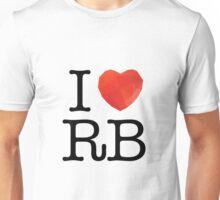I Love Ruby Unisex T-Shirt