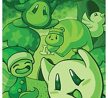 Green Greens by BigOrangeStar