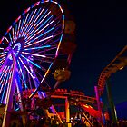 Ferris Wheel (low, wide angle) by Stephen Burke