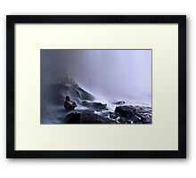The Sapo waterfall Framed Print