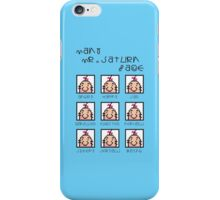 Many Saturn Face iPhone Case/Skin