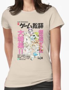 Prototype Pokemon Womens Fitted T-Shirt