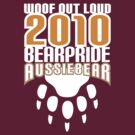 Bear Pride Australia - Aussiebear woof out loud by Alexander Evans