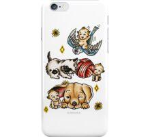 Kewpies & Baby Animals Flash  iPhone Case/Skin