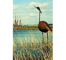Statue Proud of Maldon, UK Photographic Print