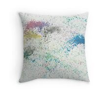 Watercolor Abstract, 2010 [3] Throw Pillow