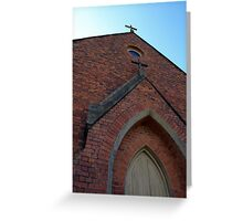 The Crosses- Hill End Greeting Card