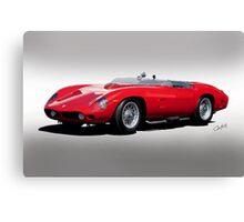 1961 Ferrari TR61 Rossa Corso II Canvas Print