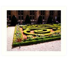 Green Gardens Art Print