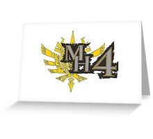 Monster Hunter 4 Ultimate Greeting Card