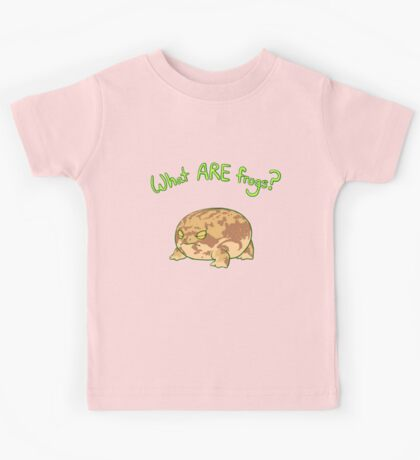 What ARE Frogs? (Desert Rain edition) Kids Tee