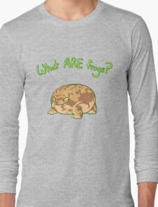 What ARE Frogs? (Desert Rain edition) Long Sleeve T-Shirt
