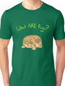 What ARE Frogs? (Desert Rain edition) Unisex T-Shirt