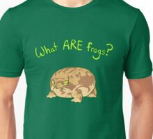 What ARE Frogs? (Desert Rain edition) Unisex T-Shirt