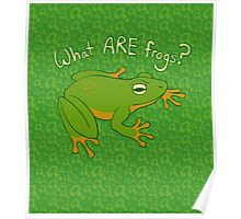 What ARE Frogs? (Basic edition) Poster