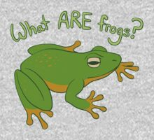 What ARE Frogs? (Basic edition) One Piece - Short Sleeve