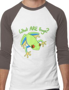 What ARE Frogs? (Tree edition) Men's Baseball ¾ T-Shirt